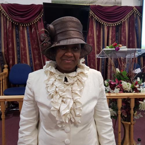 Pastor Meva Barnett-Burrowes