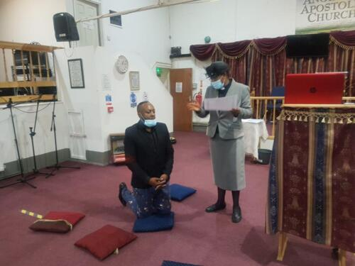 Anointed and Appointed Service